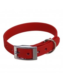 Collier Biothane Beta 16mm 35cm Rouge Alpin'Dog