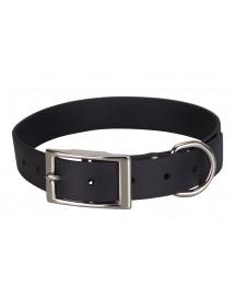 Collier Biothane Beta 25mm 55cm Noir Alpin'Dog