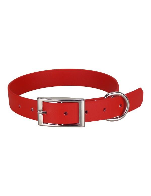 Collier Biothane Beta 25mm 55cm Rouge Alpin'Dog
