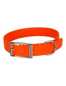 Collier Biothane Beta 25mm 60cm Orange Alpin'Dog