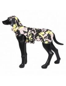 Parka Rukka Pets Stream Corail/Jaune Alpin'Dog Coté