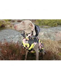 Parka Rukka Pets Stream Corail/Jaune Alpin'Dog Pluie