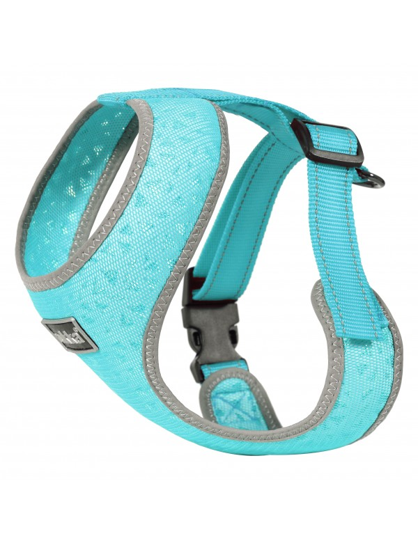 Mini Harnais Rukka Pets Laser Turquoise Alpin'Dog
