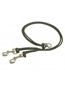 Coupleur 2x90cm Noir Alpin'Dog