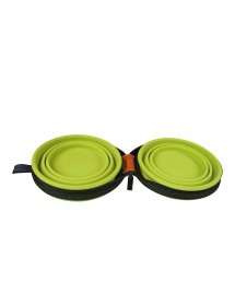 Gamelle Silicone Double 375ml Alpin'Dog