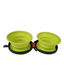 Gamelle Silicone Double 750ml Alpin'Dog