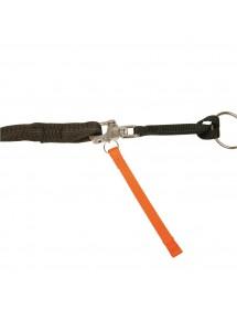 Quick'Drop Systeme Orange Largage Rapide en situation Alpin'Dog