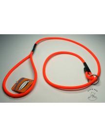 Laisse Lasso Ronde Biothane 1,50m Orange Alpin'Dog
