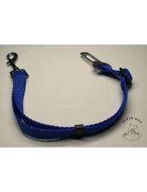 Laisse de Sécurité pour chien en voiture 25mm Bleu Alpin'Dog