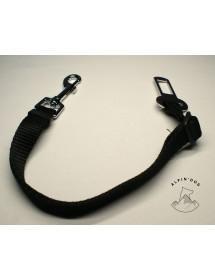 Laisse de Sécurité pour chien en voiture 20mm Noir Alpin'Dog