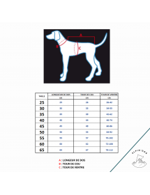 Manteau Rukka Pets Blizzard Storm Alpin'Dog Taille