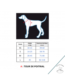 Harnais Neewa d'activité Rouge Alpin'Dog Taille