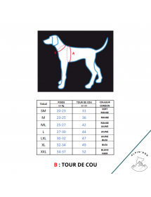 Harnais Neewa X-Back Compétition Rouge Alpin'Dog Taille