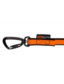 Bungee Leash 2M / 2,8M Non-Stop Alpin'Dog Mousqueton