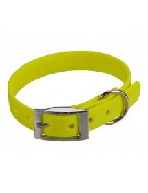 Collier Biothane Beta 16mm 35cm Jaune Alpin'Dog