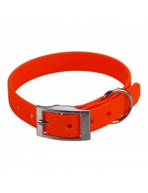 Collier Biothane Beta 16mm 35cm Orange Alpin'Dog
